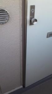 アパート ドア1