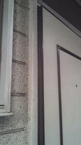 玄関ドア 不具合1