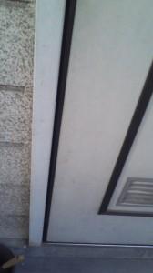 玄関ドア 不具合4