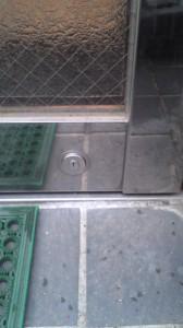 MIWA 自動ドア鍵交換8