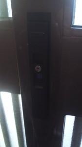 KABA 引き戸鍵交換5
