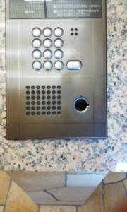 オートロック操作盤1